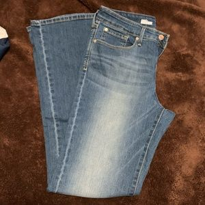 Levi boot cut totally shaping jeans